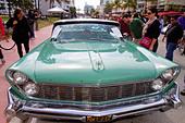 Florida, FL, South, Miami Beach, SoBe, Art Deco District, 'Ocean Drive', Art Deco historic District, Art Deco Weekend, festival, event, sports cars, c ALMCN02KF| 写真素材・ストックフォト・画像・イラスト素材|アマナイメージズ