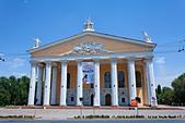 Kyrgyzstan - Bishkek - the State Opera and Ballet Theatre ALMBXEXM4| 写真素材・ストックフォト・画像・イラスト素材|アマナイメージズ
