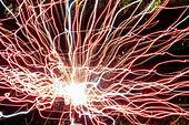 Florida Miami Beach New Year's Eve fireworks burst explosion display celebration midnight ALM2AR7R87| 写真素材・ストックフォト・画像・イラスト素材|アマナイメージズ