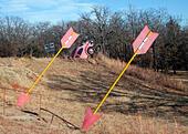 OK County Route 66 art in Arcadia Oklahoma ALME6MKDB| 写真素材・ストックフォト・画像・イラスト素材|アマナイメージズ