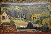 Landscape, Window Overlooking the Woods, Edouard Vuillard, 1899, Art Institute of Chicago, Chicago, Illinois, USA, North America, ALMPK23DM| 写真素材・ストックフォト・画像・イラスト素材|アマナイメージズ