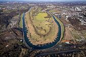 Ruhr bow, meadow landscape at the Ruhr, Homberg, Hattingen, Ruhrgebiet, North Rhine-Westphalia, Germany ALM2BHB286| 写真素材・ストックフォト・画像・イラスト素材|アマナイメージズ
