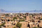 Iran,Meybod City,Wind Catcher ALMGDCAHB| 写真素材・ストックフォト・画像・イラスト素材|アマナイメージズ