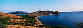 View of the Coastline at the Southeast Peninsula of St Kitt's ALMAW6J0G| 写真素材・ストックフォト・画像・イラスト素材|アマナイメージズ