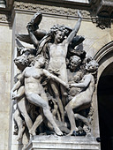 La Danse (The Dance) by Jean-Baptiste Carpeaux, Opera Garnier Paris ALMB5BRF6| 写真素材・ストックフォト・画像・イラスト素材|アマナイメージズ