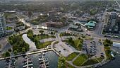 Spirt Catcher at Sunset 2020 - Barrie Ontario Canada ALM2C3RKYA| 写真素材・ストックフォト・画像・イラスト素材|アマナイメージズ