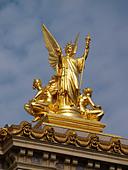 La Poesie (Poetry) by Charles Alphonse Gumery Opera Garnier Paris France Europe EU ALMB5BT26| 写真素材・ストックフォト・画像・イラスト素材|アマナイメージズ