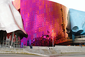 WASHINGTON Seattle Experience Music Project music museum designed by archited Frank Gehry Science Fiction Museum and Hall of Fa ALMA8AFA3| 写真素材・ストックフォト・画像・イラスト素材|アマナイメージズ