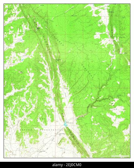 Upper Nutria, New Mexico, map 1963, 1:24000, United States of America by Timeless Maps, data U.S. Geological Survey ALM2EJ0CM0| 写真素材・ストックフォト・画像・イラスト素材|アマナイメージズ