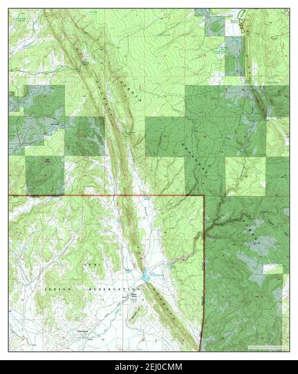 Upper Nutria, New Mexico, map 1995, 1:24000, United States of America by Timeless Maps, data U.S. Geological Survey ALM2EJ0CMM| 写真素材・ストックフォト・画像・イラスト素材|アマナイメージズ