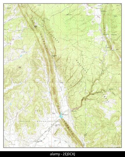 Upper Nutria, New Mexico, map 1963, 1:24000, United States of America by Timeless Maps, data U.S. Geological Survey ALM2EJ0CKJ| 写真素材・ストックフォト・画像・イラスト素材|アマナイメージズ