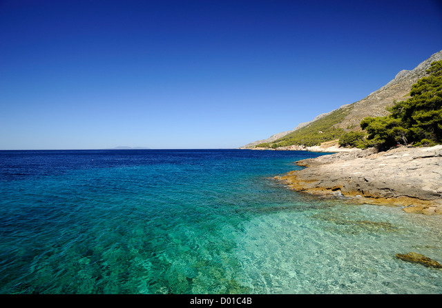 croatia, dalmatia, hvar island, southern coast, bojanic ALMD01C4B  写真素材・ストックフォト・画像・イラスト素材 アマナイメージズ