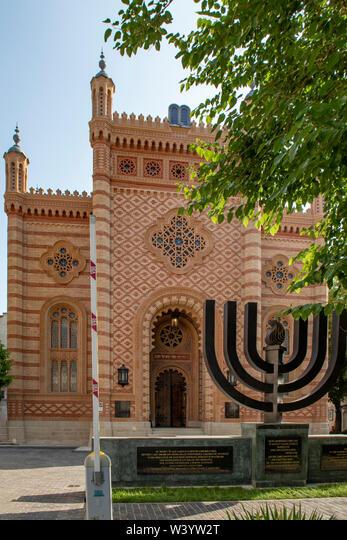 Jewish Choral Temple, Bucharest, Romania ALMW3YW2T| 写真素材・ストックフォト・画像・イラスト素材|アマナイメージズ