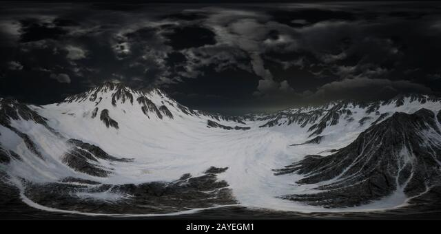 VR 360 Norway Mountains Severe Landscape ALM2AYEGM1  写真素材・ストックフォト・画像・イラスト素材 アマナイメージズ
