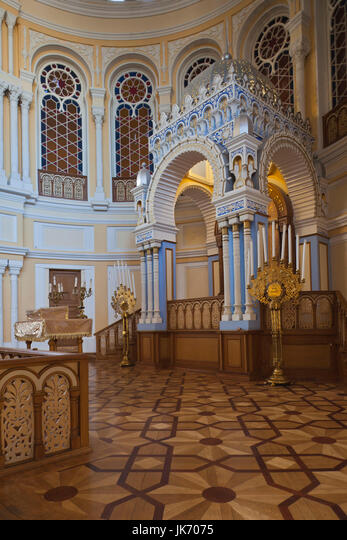 Russia, Saint Petersburg, Mariinsky, Grand Choral Synagogue, interior ALMJK7075| 写真素材・ストックフォト・画像・イラスト素材|アマナイメージズ