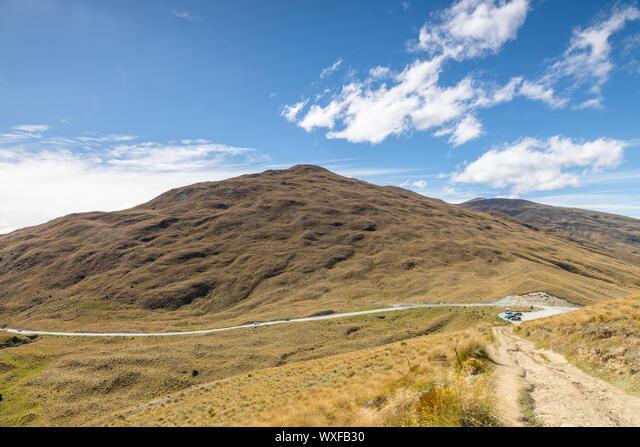 Landscape scenery in south New Zealand ALMWXFB30| 写真素材・ストックフォト・画像・イラスト素材|アマナイメージズ