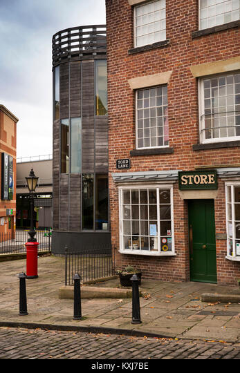UK, England, Greater Manchester, Rochdale, Toad Lane, Rochdale Pioneers Society co-operative museum ALMKXJ7BE| 写真素材・ストックフォト・画像・イラスト素材|アマナイメージズ