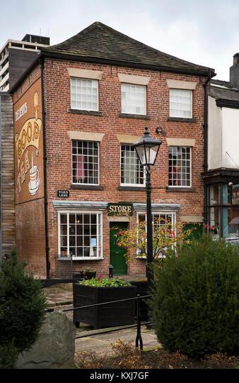 UK, England, Greater Manchester, Rochdale, Toad Lane, Rochdale Pioneers Society co-operative museum ALMKXJ7GF| 写真素材・ストックフォト・画像・イラスト素材|アマナイメージズ