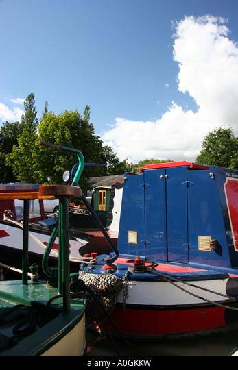 Oxford Union Canal ALMA0GKKW  写真素材・ストックフォト・画像・イラスト素材 アマナイメージズ